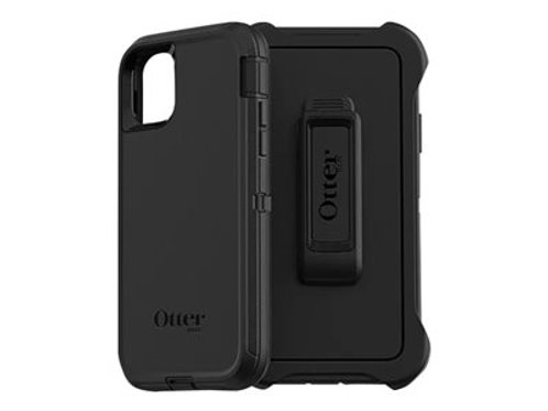 Otterbox Defender deksel Sort, ekstra robust, til iPhone 11