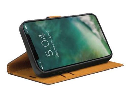 iPhone 12 Pro Max Lommebokdeksel fra Xqisit - sort Lommebokdeksel med 3 lomme