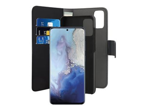 Puro Wallet Magnet Galaxy S20, Sort Lommebokveske m/Magnet