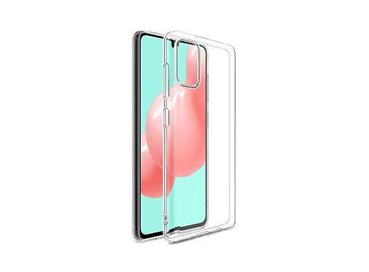 Rubber cover Galaxy A41, Clear