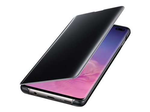 Samsung ClearView Cover S10, Black ClearView Cover Galaxy S10