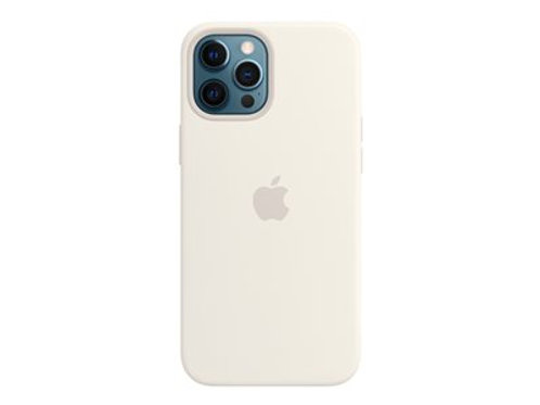 Apple Silikondeksel 12 Pro Max, Hvit Deksel/MagSafe