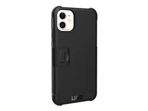 UAG Metropolis Case iPhone 11, Svart Støtbeskytende deksel