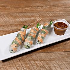 Spring Rolls w/ Shrimp - Gỏi Cuốn Tôm