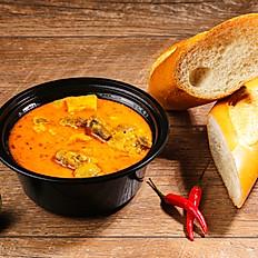 Chicken Curry - Bánh Mì Cà Ri Gà