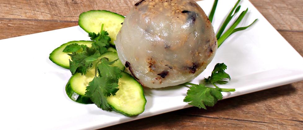Vietnamese Rice & Pork Dumplings - Bánh Giò