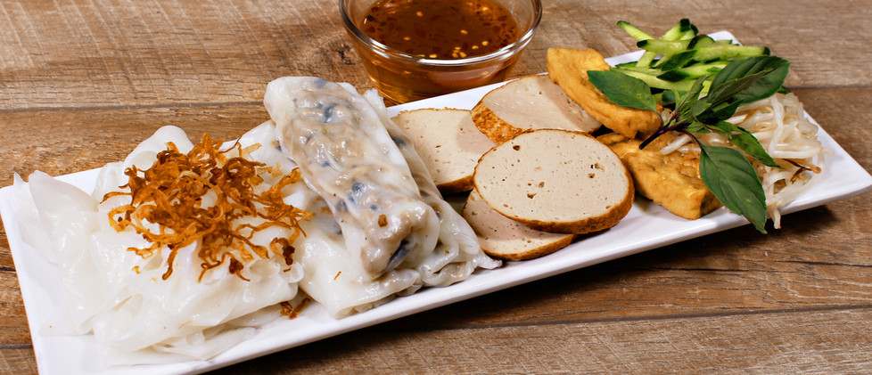 Rice Crepe with Pork - Bánh Cuốn