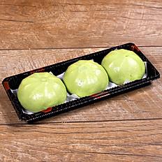 Matcha & Red Bean Bao - Bánh Bao Đậu Đỏ