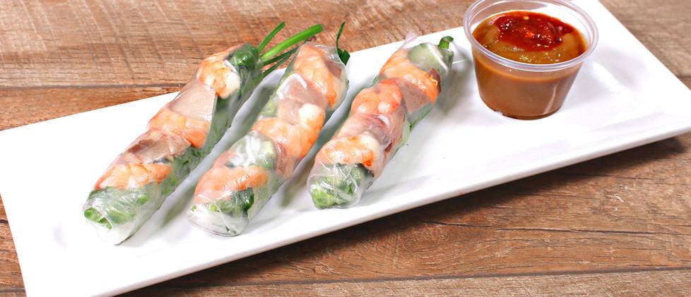Spring Rolls w/ Pork & Sprimp - Gỏi Cuốn Tôm Thịt