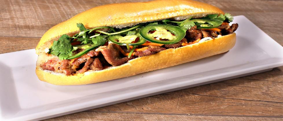 Grilled Pork - Bánh Mì Thịt Heo Nướng