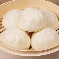 Salted Egg & Pork Bao - Bánh Bao Thịt Heo Trứng Muối