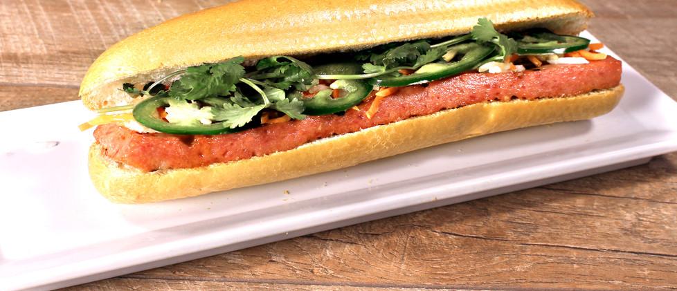 Grilled Pork Patty - Bánh Mì Nem Nướng