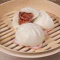 BBQ Pork Bao - Bánh Bao Xa Xíu