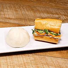 Quail Egg Bao + Banh Mi Platter (30 portions)