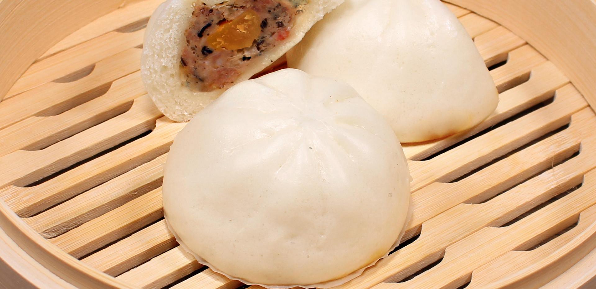 Quail Egg & Pork Bao - Bánh Bao Thịt Heo Trứng Cút
