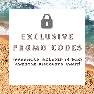 Exclusive Promo codes- password included