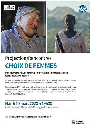 Affiche A3 Projection Rencontres Choix d