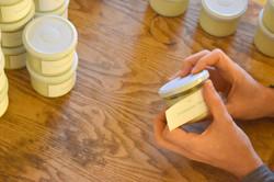 étiquettage des bougies