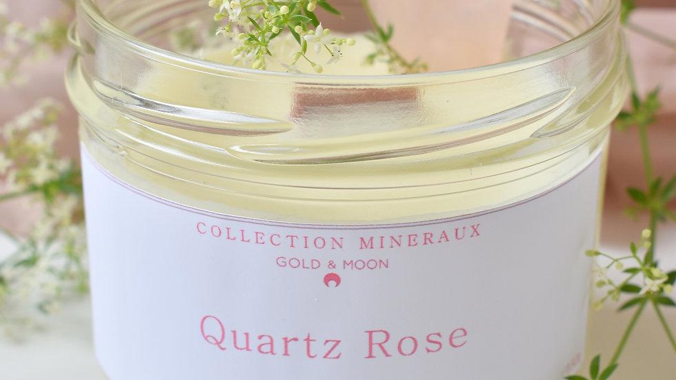 Bougie parfumée Quartz rose