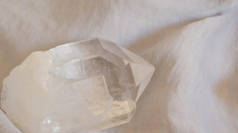 Pointe de quartz brut qualité extra