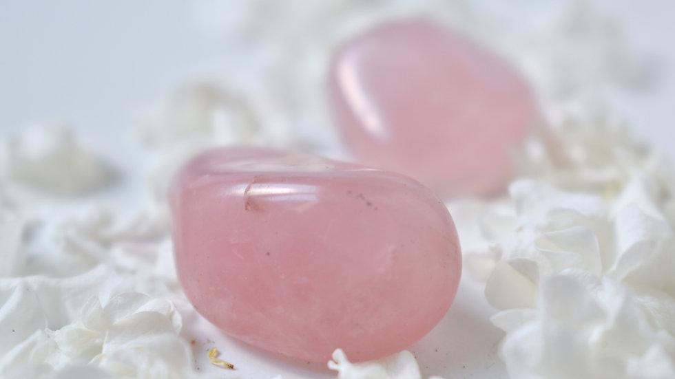 Pierre roulée Quartz rose
