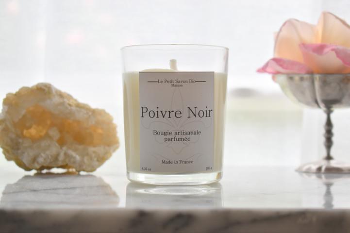 bougie parfumée bio gold and moon