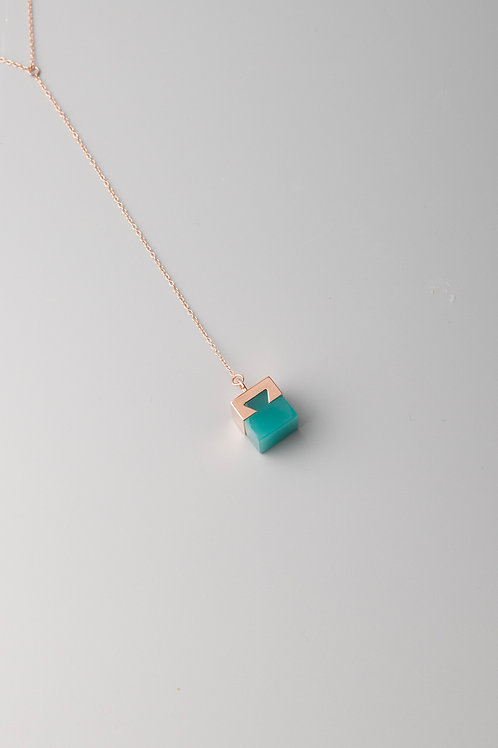 LINK ONE PENDANT - TURQUOIS