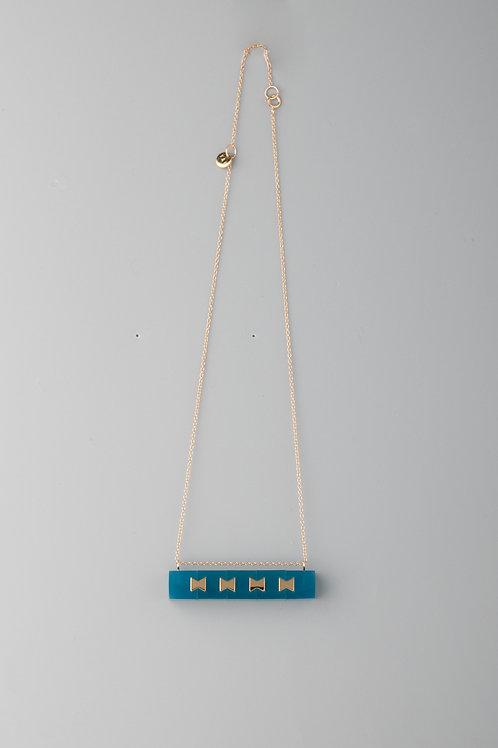 LINK MULTI NECKLACE - BLUE