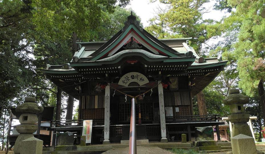 水戸愛宕神社本殿