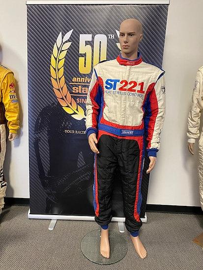 ST 221 HSC FIA 8856-2000 Racing Suit Size 3 (5'9 - 175 lbs)