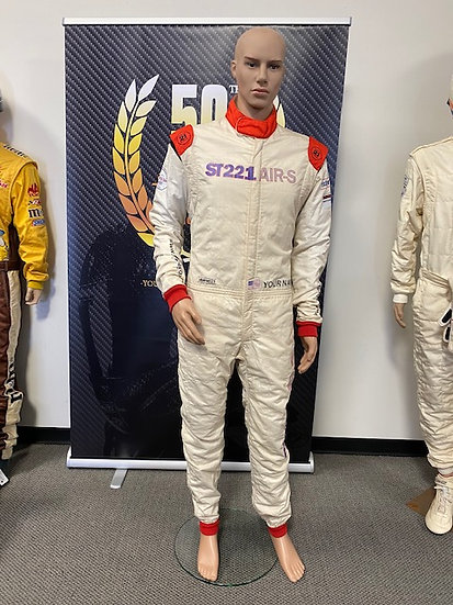 ST 221 Air-S FIA 8856-2000 Racing Suit Size 4 (6'1 - 185 lbs)