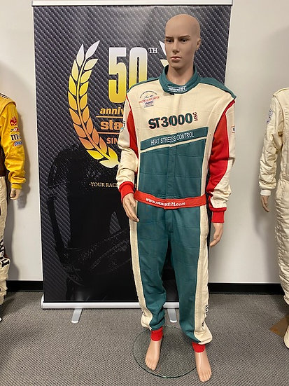 ST 3000 HSC FIA 8856-2000 Racing Suit Size 4 (6'1 - 185lbs)