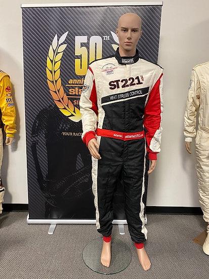 ST 221 HSC FIA 8856-2000 Racing Suit Size 4 (6'1 - 185 lbs)