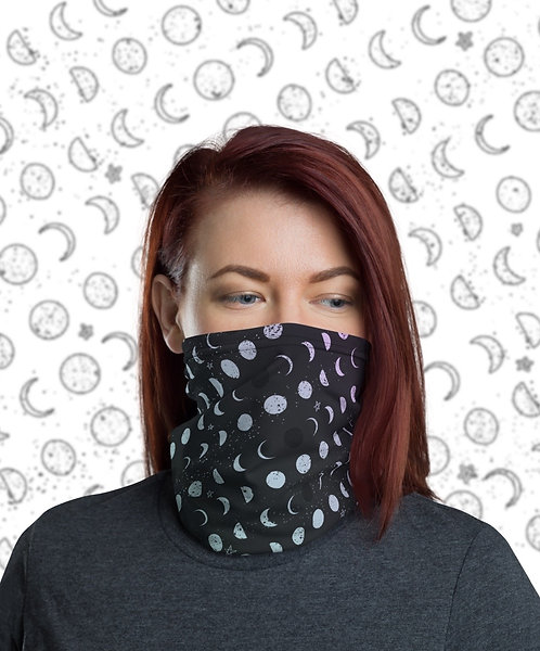 Face Cover: Moon Phases