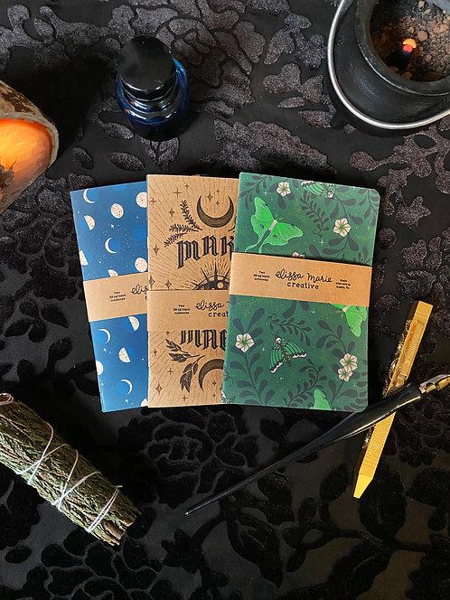 Pocket Notebooks: Magic - Set of 2
