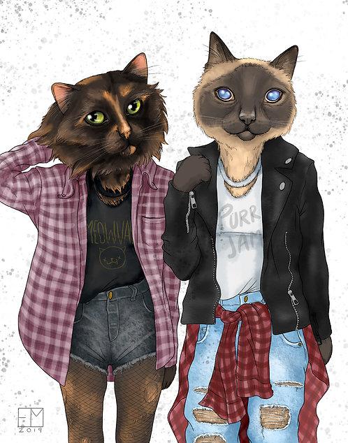 Custom Digital Pet Portraits