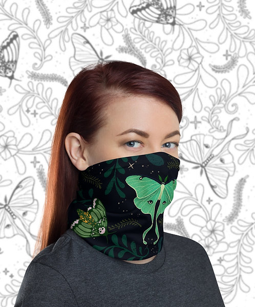 Face Cover: Midnight Garden