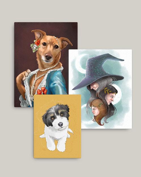 Custom Canvas Print Add-On
