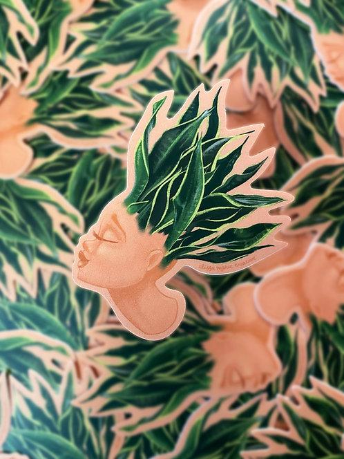 Plant Lady #1 Sticker