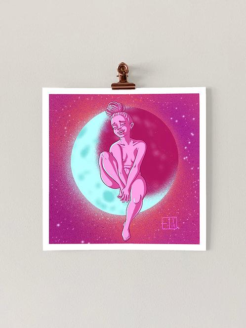 #MagicMoonWeek: Self-Care Art Print