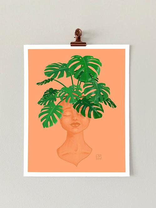 Plant Lady No. 3 Art Print