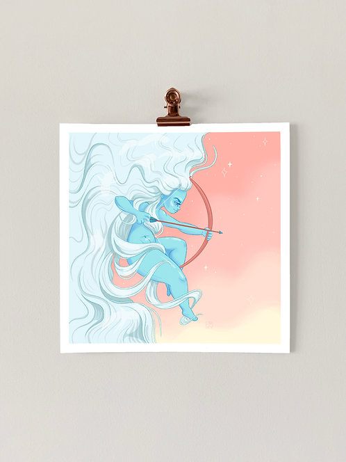 Goddess Diana Art Print