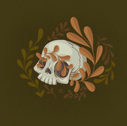 Mini Human Skull