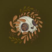 Mini Cat Skull