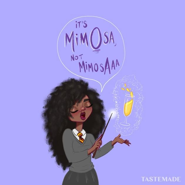 It's mimOsa, not mimosAaa