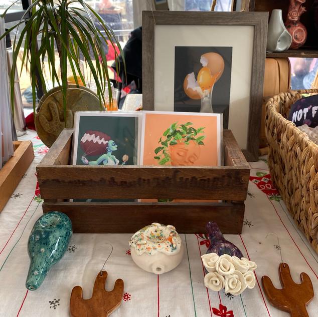 Prints, Pipes & Ornaments