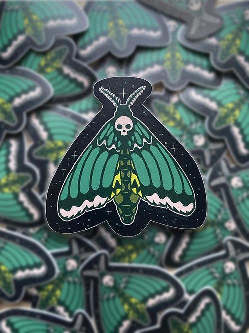Death Moth Sticker