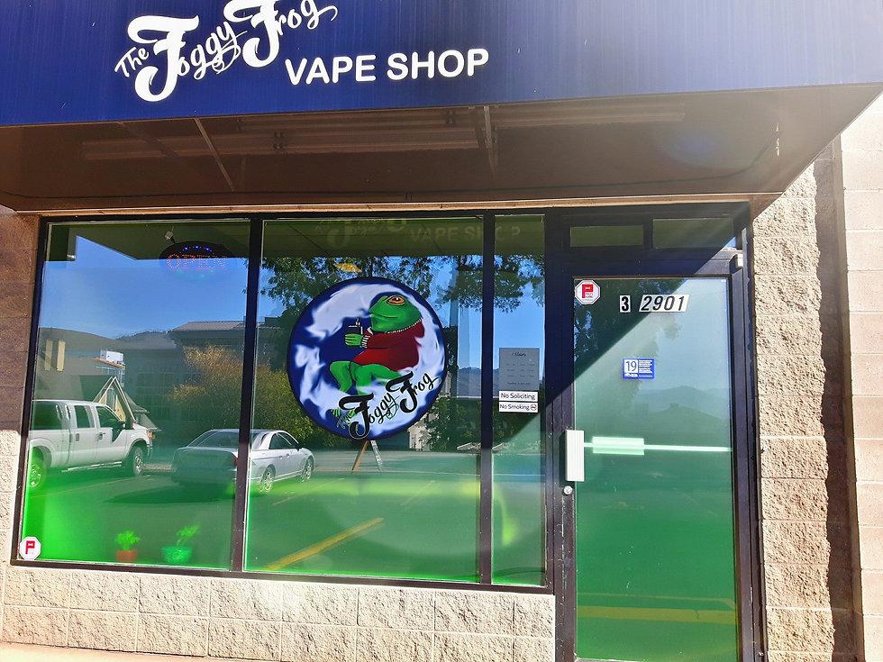 The Foggy Frog Vape Shop
