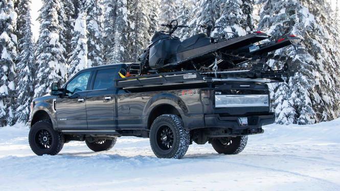 Mammoth Snowmobile Deck