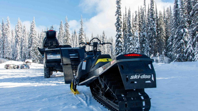 Snowmobile Deck